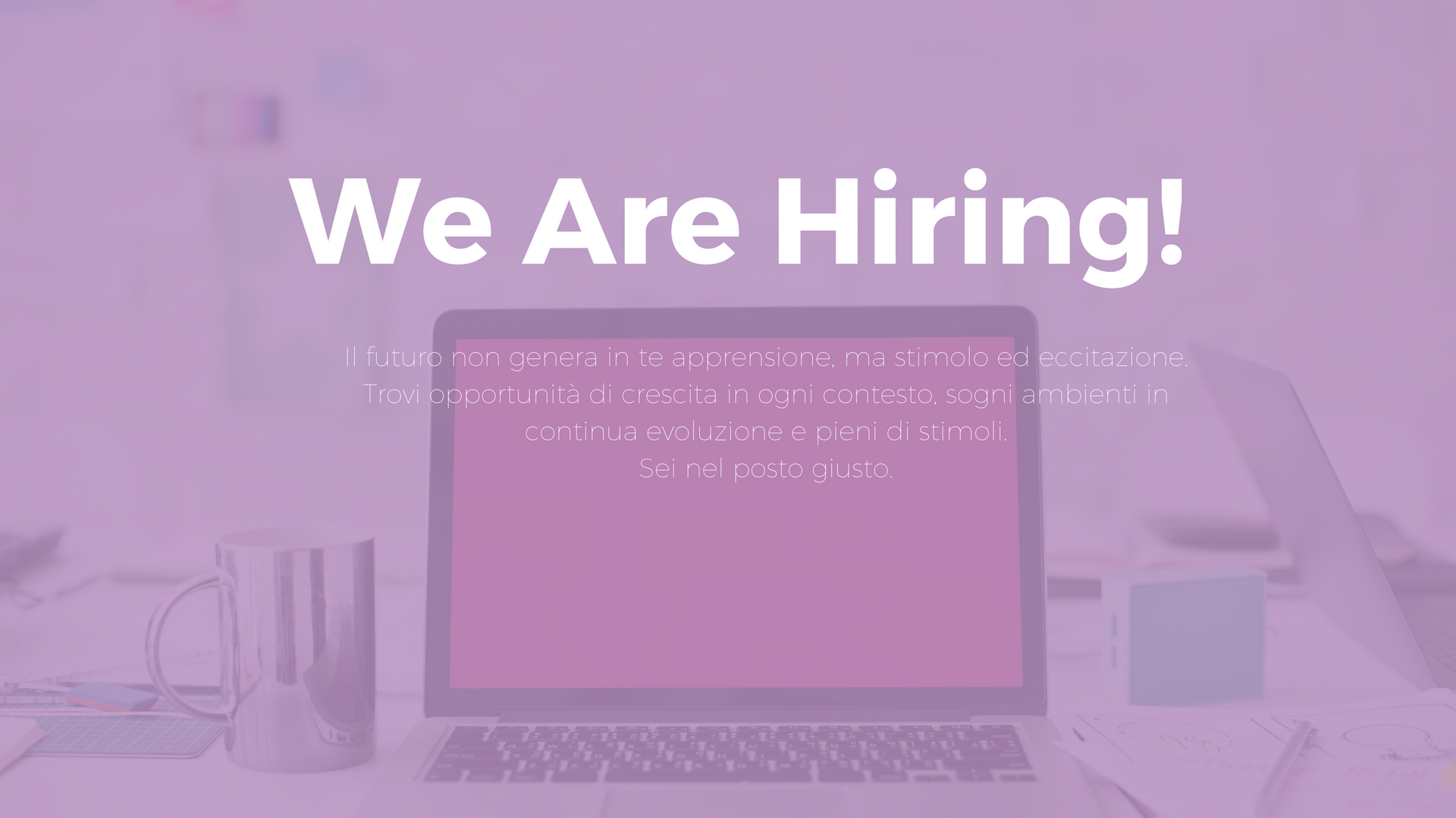 We Are Hiring!(2)